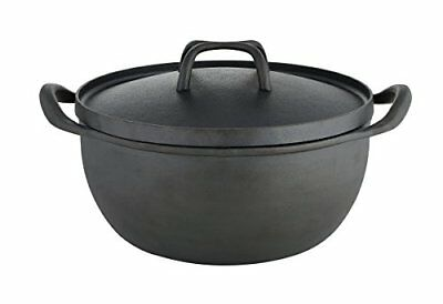 Sabatier Pre-Seasoned Rust Resistant Dutch Oven, 5.5-Qu