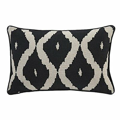 Pillow in Black and Natural
