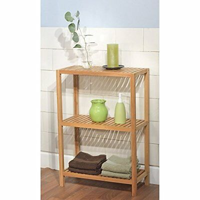 Simple Living, Bamboo ( 3- Tier Shelf ) Ecofriendly And
