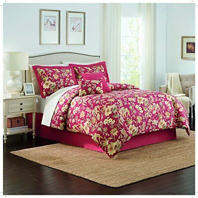 Traditions by Waverly 14930BEDDQUEBER Honeymoon 88-Inch