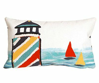 Visions Lighthouse Pillow