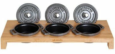 Staub Cast Iron - 1190698 - 3 Mini Casseroles Display S