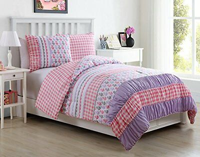 VCNY Home Lily Polyester 2 Piece SUPER SOFT Comforter S