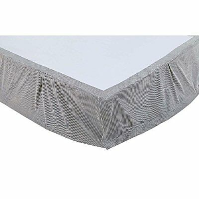 VHC Brands Lincoln 29240 Bed Skirt, Queen