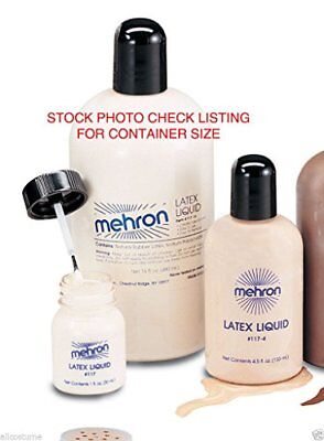 117 Mehron Liquid Latex (4.5 oz, White)