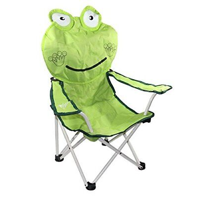 30 Inch Happy Frog Children's Folding Chair with Armres