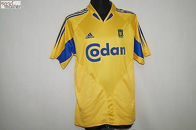 Brondby IF 2004 - 2005 Home Adidas Denmark Football shirt SIZE M