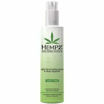 Hempz After Sun Cooling Gel and Body Hydrator, Clear, P
