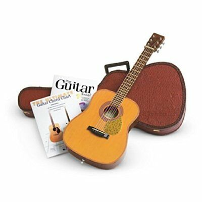 American Girl Doll Guitar with Case and Books Set Truly