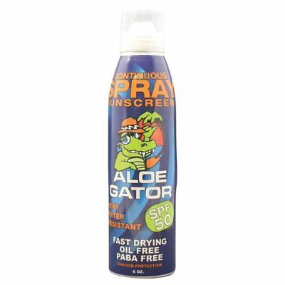 Aloe Gator Sun Care Adult Continuous Spray