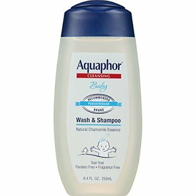 Aquaphor Baby Wash & Shampoo 8.4 fl. oz. (Pack of 3)