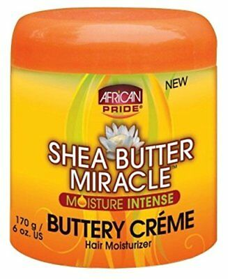 African Pride Shea Butter Miracle Buttery Creme 6 Ounce