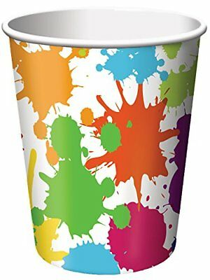 Creative Party Art Paper Cups 8Pk