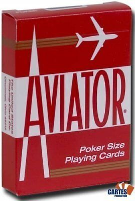 AVIATOR Deck - Red Back (US Playing Card Company) by Av