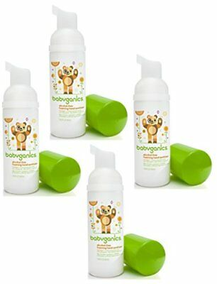 Babyganics Alcohol-free Foaming On-The-Go Hand Sanitize