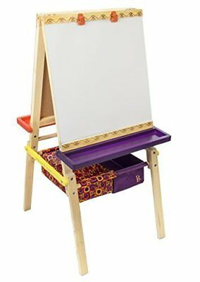 B. Toys Easel Does It Wooden Art Easel with Chalkboard,