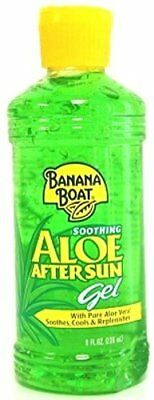 Banana Boat Soothing Aloe After Sun Gel 8 oz (Pack of 2