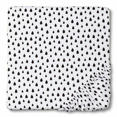 "Circo""¢ Woven Fitted Crib Sheet - Drops"