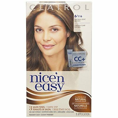 CLAIROL Nice 'n Easy Permanent Color, 6/116 Natural Lig