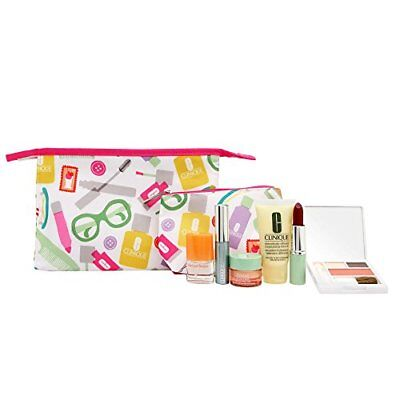 Clinique Skin Care 8 Piece Makeup and Fragrance Gift Se