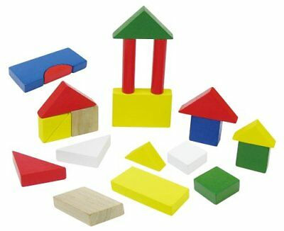 Colorful wooden building blocks (case ON)