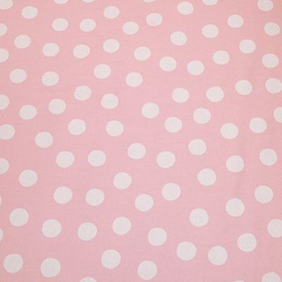 Cotton Tale Designs Poppy Dot Fabric, Pink Background w