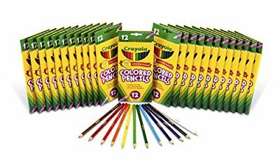 Crayola Colored Pencils, 24 Packs of 12-Count Colored P