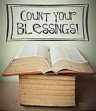 """Count Your Blessings Picture Art €"""" Living Room €"""" Pe"""
