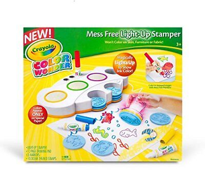 Crayola, Color Wonder Mess Free Light-Up Stamper, Art T