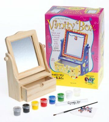 Create Your Own Vanity Box with Mirror Creativity Craft