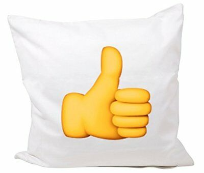 """Cushion Cover 40x40 """"Sign for thumbs up"""" Pillowcase- 40"""