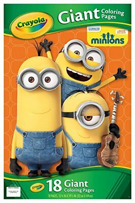 Crayola Giant Color Pages-Minions