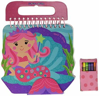 Stephen Joseph Shaped Sketch Pad, Mermaid