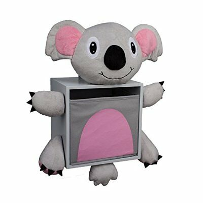 Danya B Plush Koala Bear Kids Wall Storage Bin