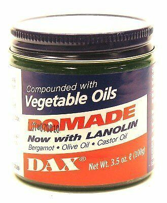 Dax Pomade (Bergamot) 3.5 oz. Jar by DAX
