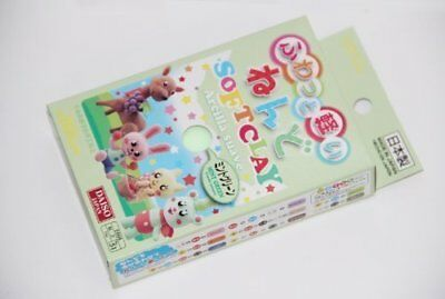 Daiso Japan Mint Green Color Soft Modeling Clay 10 Colo