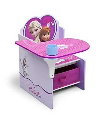 Delta Children Chair Desk With Storage Bin, Disney Froz