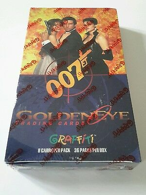 James Bond  Goldeneye trading cards sealed set Pearce Brosnan