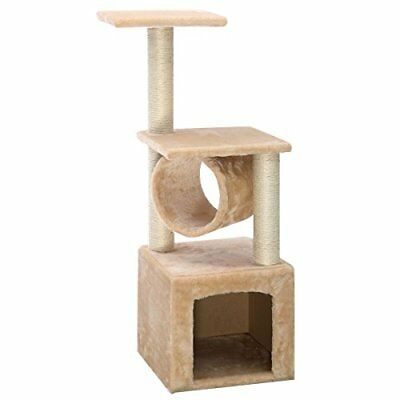 """Deluxe 36"""" Cat Tree Condo Furniture Play Toy Scratch Po"""