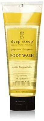Deep Steep Body Wash, Grapefruit Bergamot , 8 Ounces