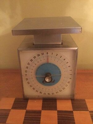 Vintage Edlund SR-2 Metal Glass Scale 32oz Weight Capacity Made In USA