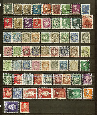 Norway 60+ Most OK!! Most To 1951! See Description! #AK305Z