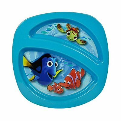 NEW Disney/Pixar Finding Nemo Sectioned Plate, Colors May Vary