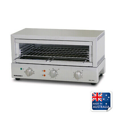 Salamander Grill Toaster 585x315x315mm 10amp Roband GMX810 Commercial Griller