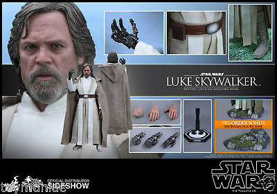 Star Wars Force Awakens LUKE SKYWALKER Hot Toys Figure MMS 390 FREESHIP IN STOCK