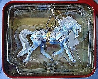 Westland Horse of a Different Color Item #20635 Silver Bells Christmas Ornament