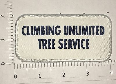 Climbing Unlimited Tree Service Patch - Vintage