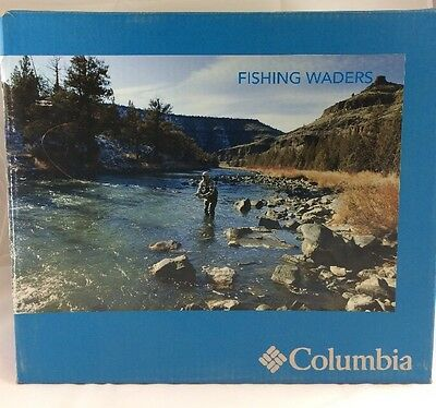 Brand New - With Box Columbia Cowlitz Wader Sage 60736 Size Men's  6XL