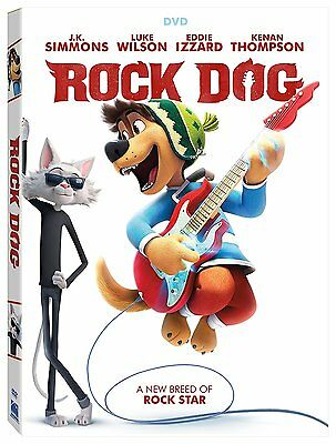 Rock Dog (Dvd,2017) Brand New Kids*family* Now Shipping Sealed
