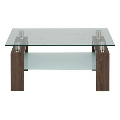 """Jofran 198-2B Contemporary Compass Cocktail Table Square 38x38x19"""" - Base Only"""